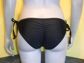 Scrunch bikini slipje zwart L 36 38