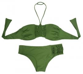 BlueGlue bikini Schizo groen 38B 38C slip S