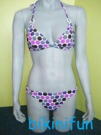 set Shiwi bikini met vrolijke print maat 38 B-cup