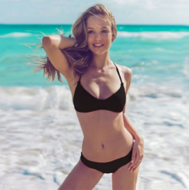 Bikinifun Cheeky bikini zwart 38
