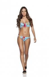 Agua Bendita Rosa bikini  M 34 36
