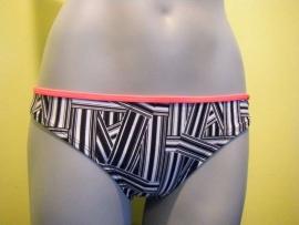 Shiwi bikinislip black white  maat 40