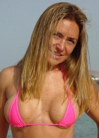 B'Fun micro string bikini set pink 34-36