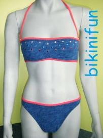 Beach Life bandeau bikini 38