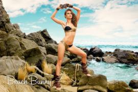 "Beach Bunny ""Gilded Reign"" Bikini XS push-up"