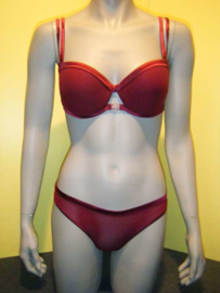 La Perla bordeaux rode set 80C 40