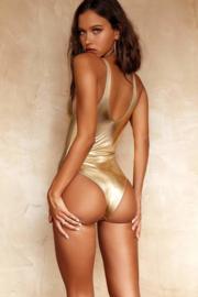 semi string body badpak goud  36 38 (L)