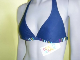 blauwe BeachWave triangle top 36