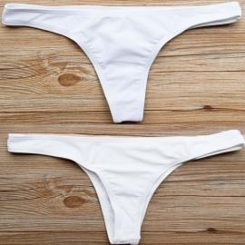 Bikinifun string bikinibroekje wit XL  40