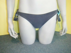 Bodique bikinislip Suede-look  XS32  of XL 46/48
