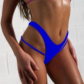 stringbroekje donkerblauw 40 L