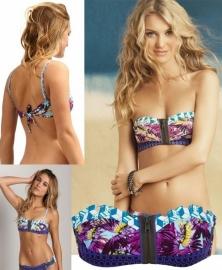 Maaji Blue Cast bikini top 34