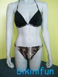 set Shiwi bikini slangenprint maat 38 B-cup