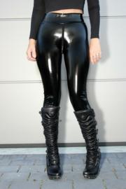 sexy lak legging met ritssluiting XL