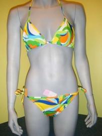 H&D halter bikini  multi color S 36
