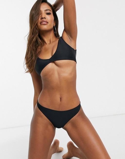 Miss G bikini string zwart 36