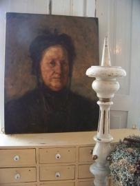 Portret van een oude Dame.