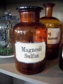 Apothekersfles Magnesii Sulfas