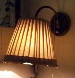 Lief wandlampje...