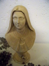 Witte buste van de H. Theresia