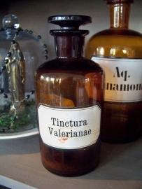 Apothekersfles Tinctura Valerianae