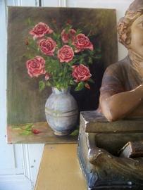 Doek met rozen