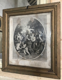 18e eeuwse kopergravure