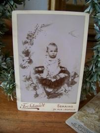 Oude babyfoto