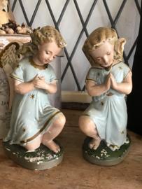 Knielende engelen