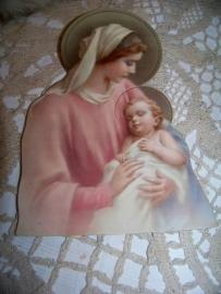 Staande kaart, Maria