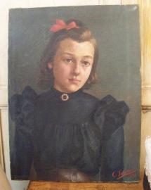 Meisjesportret uit 1898