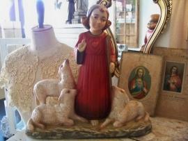 Arnova beeld: H. Hart van Christus met schaapjes