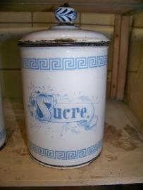 Voorraad pot Sucre