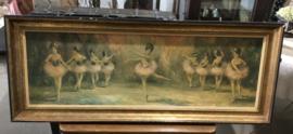 Schilderij met balletdanseresjes