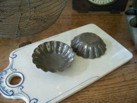 Oude bakvormpjes 7 cm