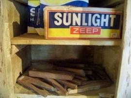 Oude verpakking Sunlight Zeep