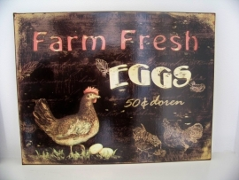 Farm fresh eggs...