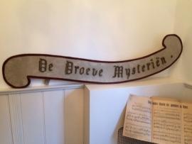 "Groot processie bord ""De Droeve Mysteriën"""
