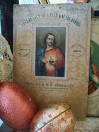 Kaart met Heilig Hart