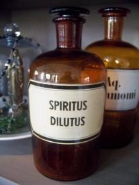 Apothekersfles Spiritus Dilutus