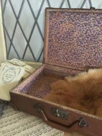 Bruin koffertje
