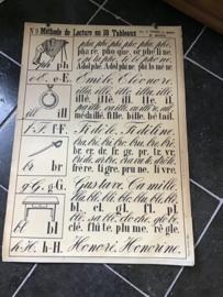 Oude Franse schoolplaten nr. 9/18