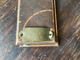 Oude papierrolhouder