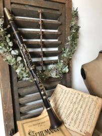Oude klarinet