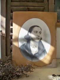 Portret van een jongedame