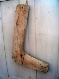 Oude houten sokkendrogers