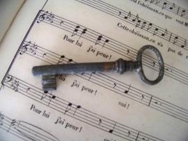 Klein oud sleuteltje (3)