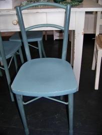 """Blauwgroene stoeltjes """"Luterma"""""""