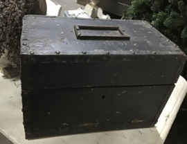 Zwarte stoere kist