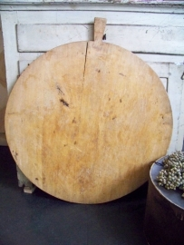Grote oude houten broodplank
